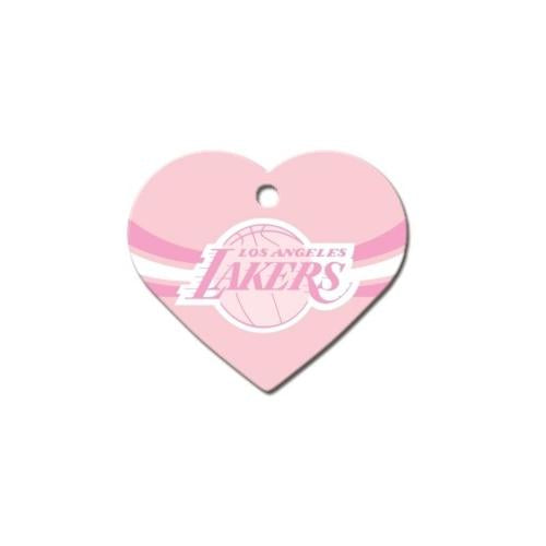 Los Angeles Lakers Heart ID Tag