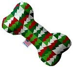 Classy Christmas Trees Canvas Dog Toys - staygoldendoodle.com
