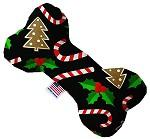 Candy Cane Chaos Canvas Dog Toys - staygoldendoodle.com