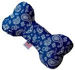 Blue Western Canvas Dog Toys - staygoldendoodle.com