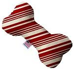 Classic Candy Cane Stripes Canvas Dog Toys - staygoldendoodle.com