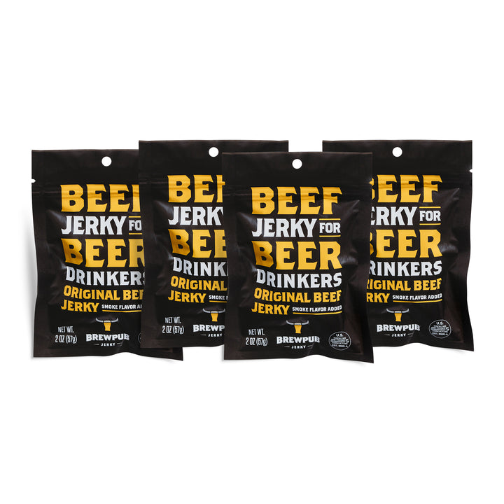 Brewpub Jerky Original (4 pack)