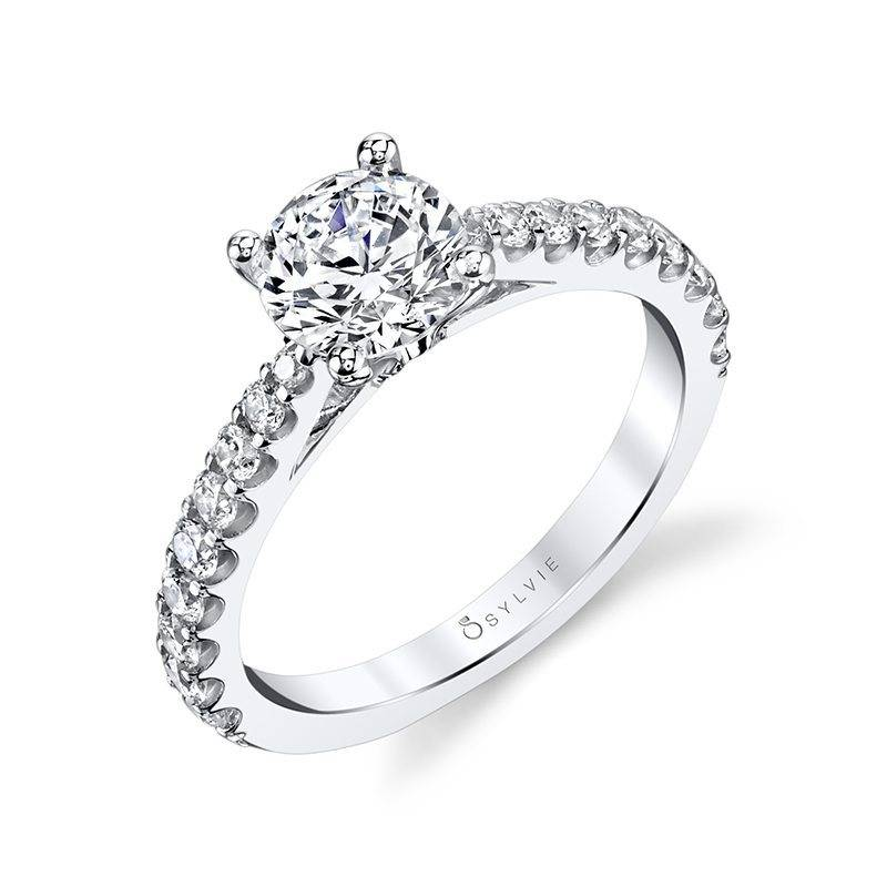 S1362 JOSETTE - CLASSIC SOLITAIRE ENGAGEMENT RING