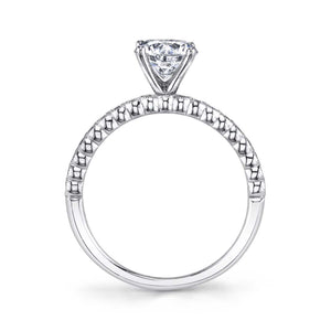 S1510 ALBERTINE - MODERN SOLITAIRE ENGAGEMENT RING
