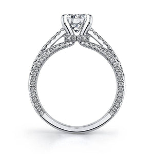SY126 EMMANUELLE - MODERN SOLITAIRE ENGAGEMENT RING