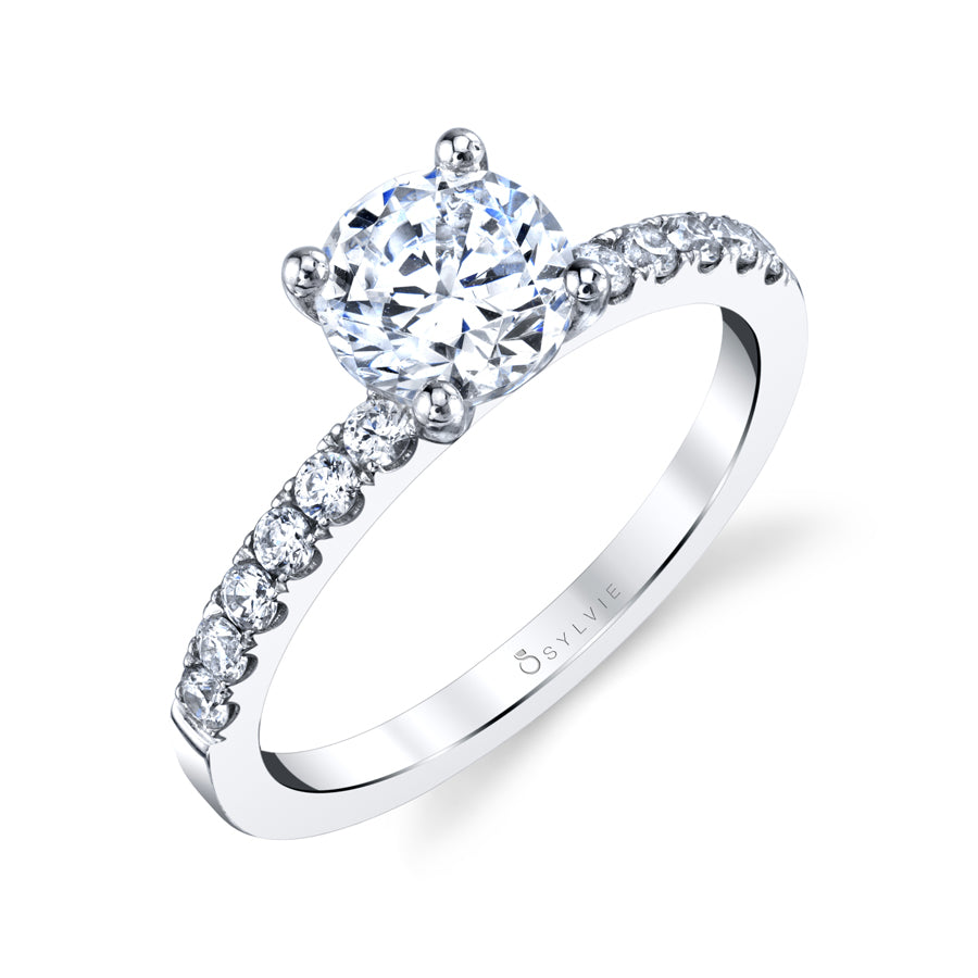 SY730 ANNE - CLASSIC SOLITAIRE ENGAGEMENT RING