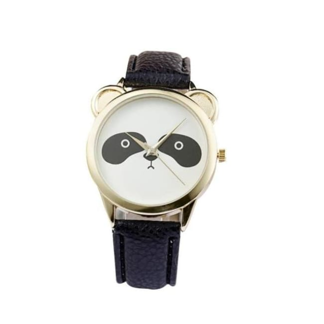 Adorable Panda Watch - Black - Watches