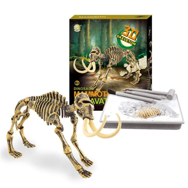 Amazing Museum-Quality 3D T-Rex Skeleton Model - Mammoth - Toys & Hobbies