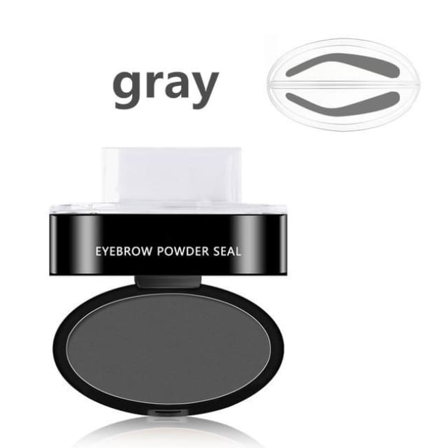 Amazing Waterproof Eyebrow Stamp - 06 - Beauty & Health