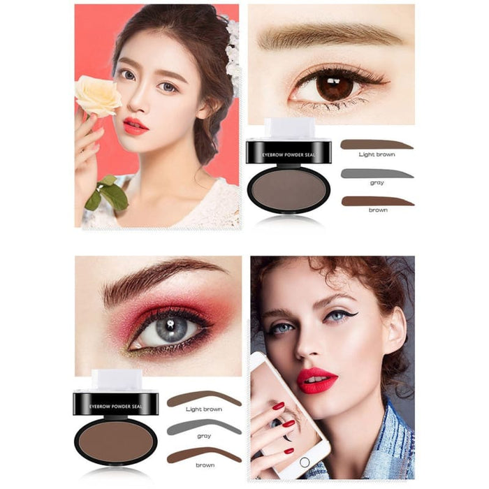 Amazing Waterproof Eyebrow Stamp - Beauty & Health