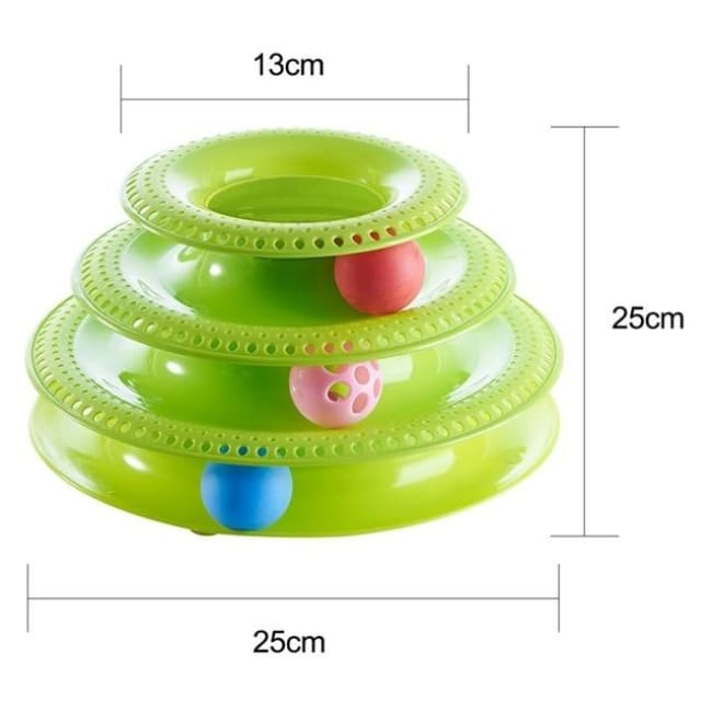 Amuzement Crazy Ball Disk Cat Toys - Rt480Gb / China - Pets
