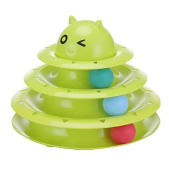 Amuzement Crazy Ball Disk Cat Toys - Rt536G / China - Pets
