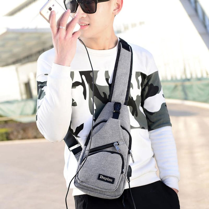 Casual Luxury Anti Theft Backpack Usb - Luggage & Bags