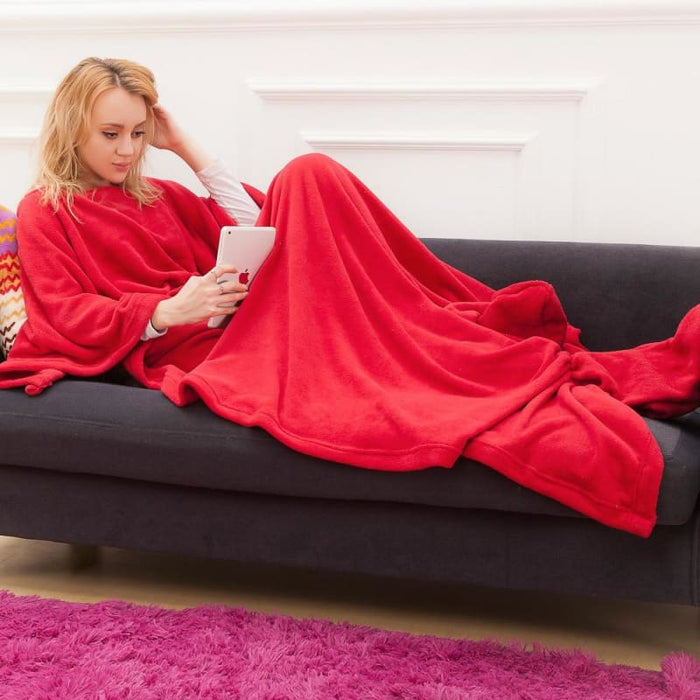 Full Body Blanket With Sleeves - Home & Garden