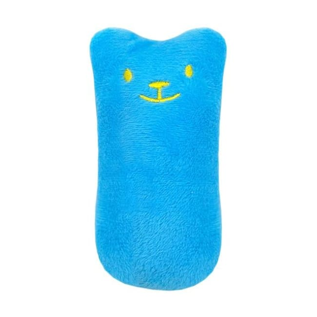 Funny Interactive Plush Cat Toy - Blue / Xs - Pets