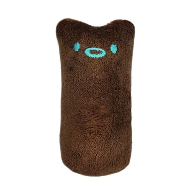 Funny Interactive Plush Cat Toy - Coffee / Xs - Pets