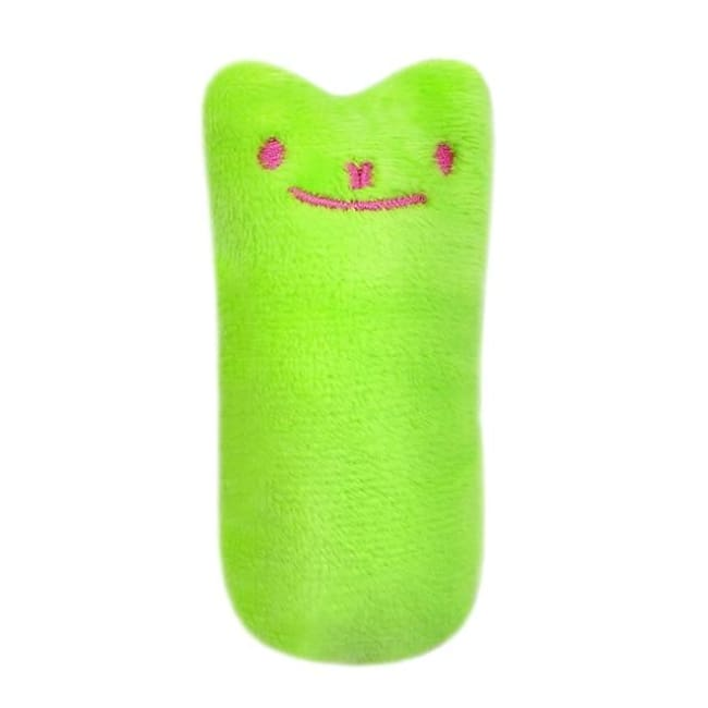 Funny Interactive Plush Cat Toy - Green / Xs - Pets
