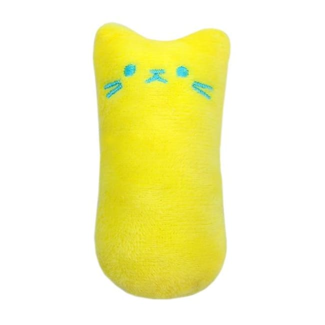 Funny Interactive Plush Cat Toy - Yellow / Xs - Pets