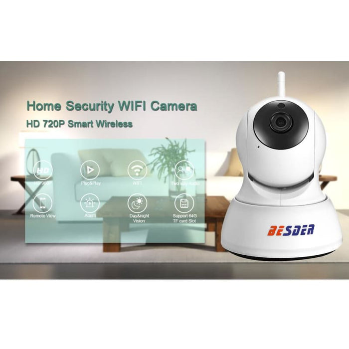 Home Security Camera - Security & Protections