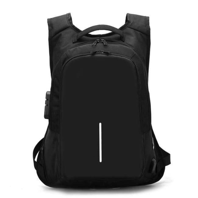 Luxury Anti-Theft Laptop Backpack Waterproof - Black / United States - Luggage & Bags