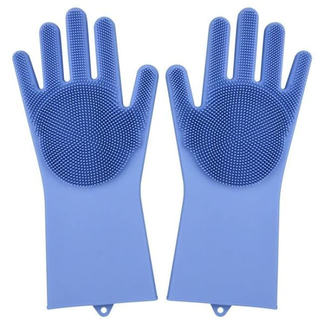 Magic Dish Washing Gloves - Blue / A Pair - Home & Garden