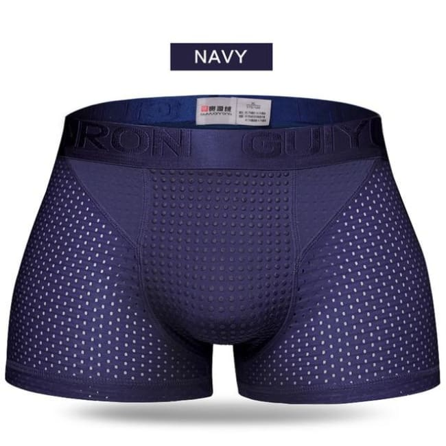 Magnetic Therapy Energetic Men Underwear - Navy Blue / Xl - Beauty & Health