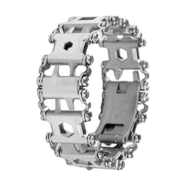 Multifunction Tread Bracelet Stainless Steel - Silver