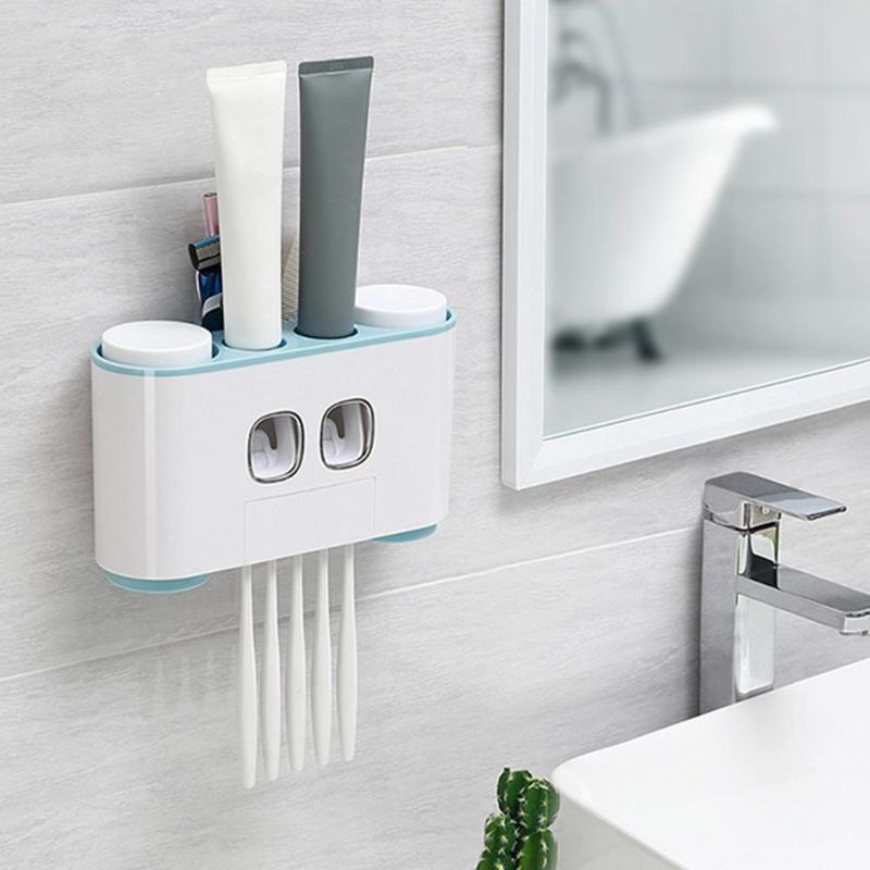 Premium Automatic Toothpaste Dispenser Bathroom Organizer