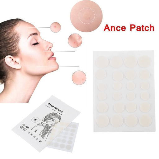 24pc Hydrocolloid Invisible Pimple and Blemish Skin Patch