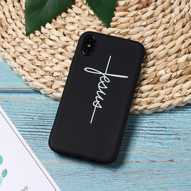 Faith of Jesus iPhone Case