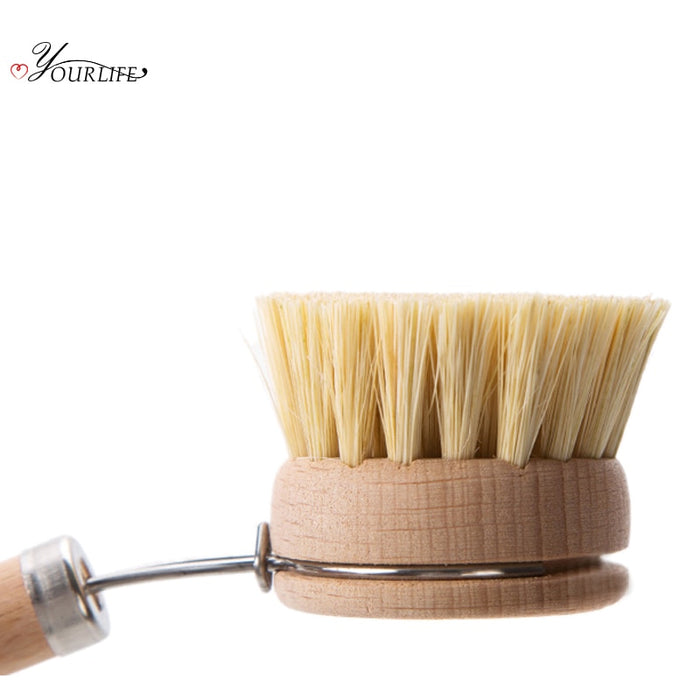 Fancy Natural Wood Dish Brush