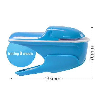 Hand-held Mini Safe Stapler without Staples