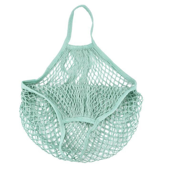 Fancy Mesh Cotton Reuseable Shopping Bag