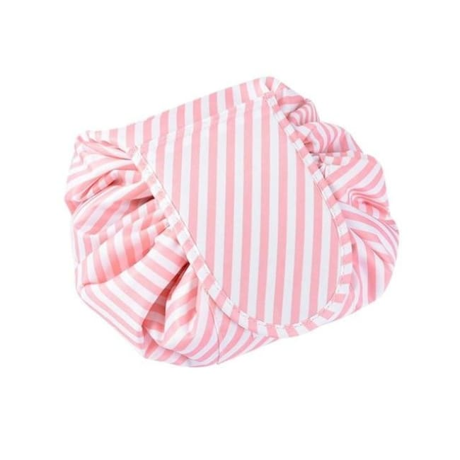 The Quickie... - Pink Stripe - Fashion Bags