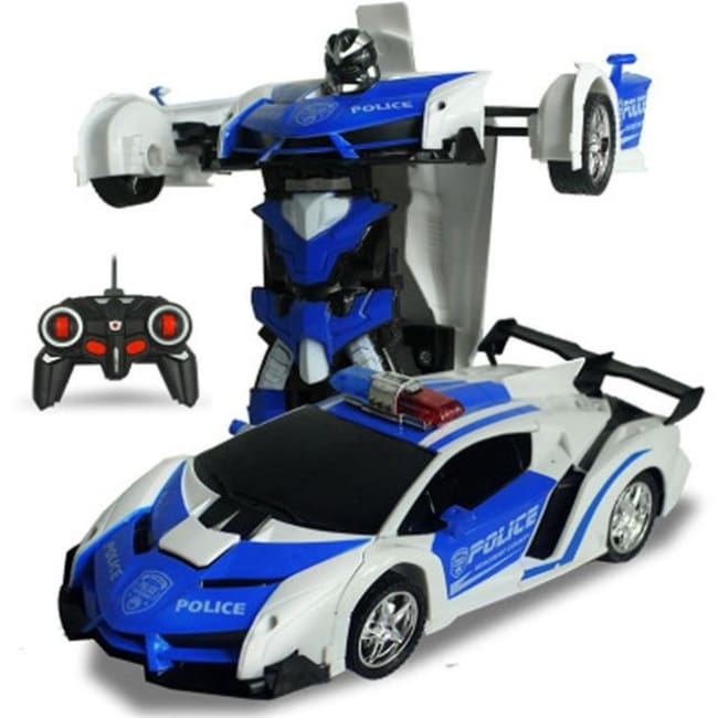 Transformation Robots Sports Vehicle - Blue02 - Toys & Hobbies