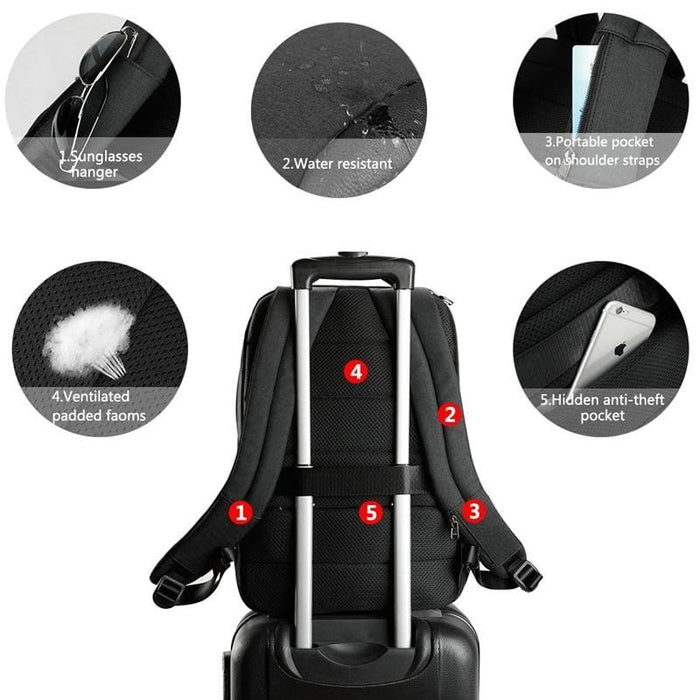 Waterproof Anti Theft Backpack For 15.6 Laptop Backpack - Luggage & Bags