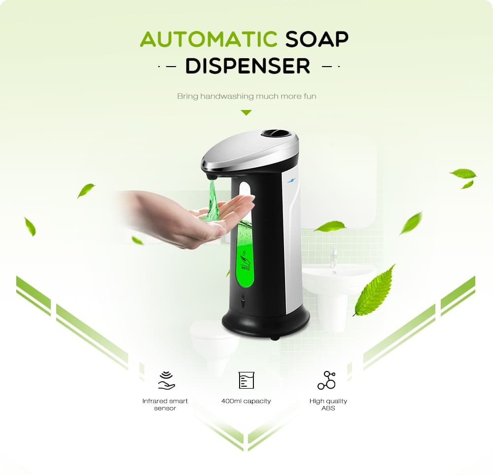 Automatic Liquid Soap Dispenser Smart Sensor Touchless