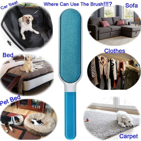 Pet Fur & Lint Remover - The Last Lint Roller Youll Ever Need 75% Off