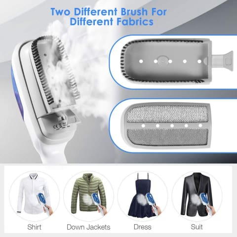 Professional Handheld Garment Steamers 49% Off