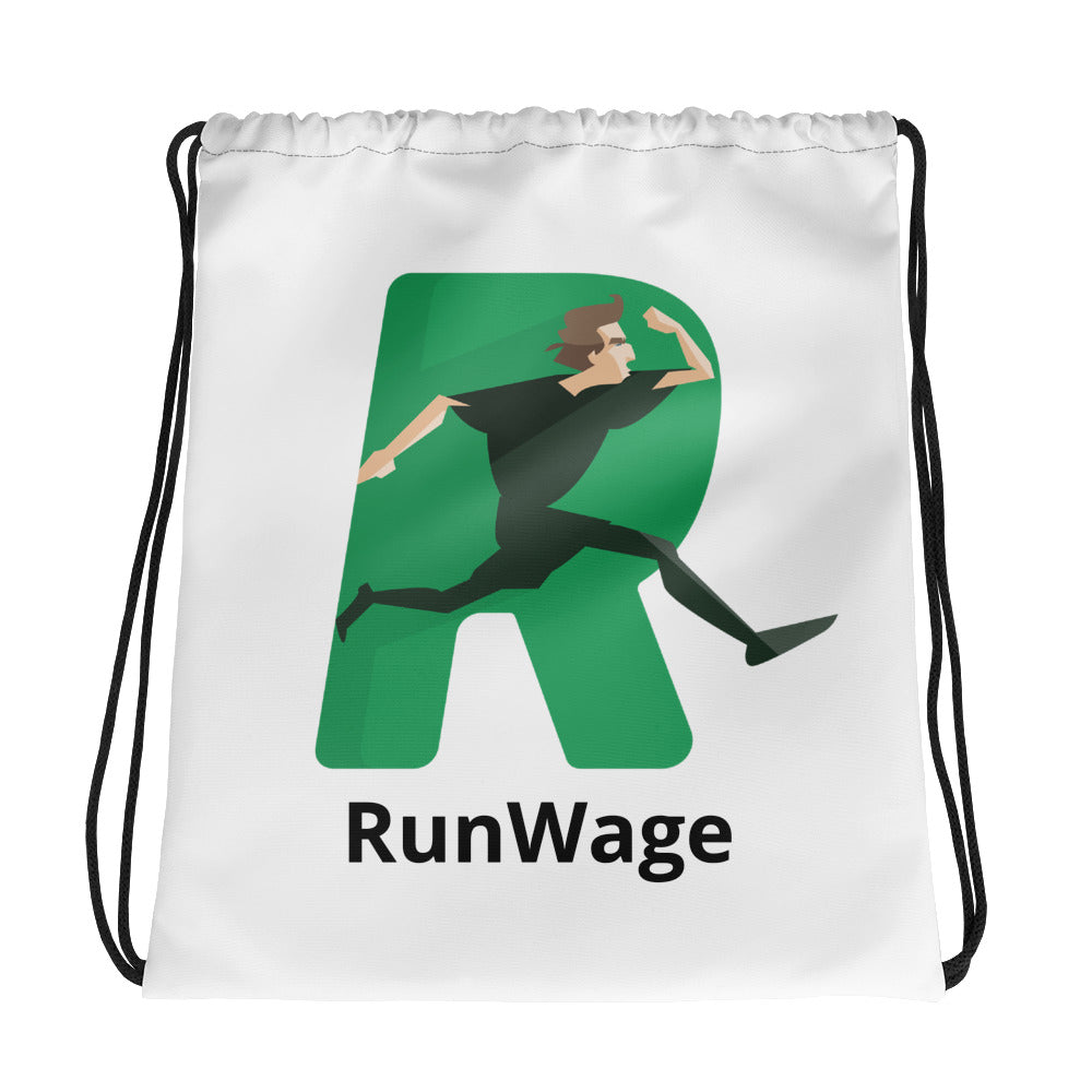 RunWage Drawstring bag