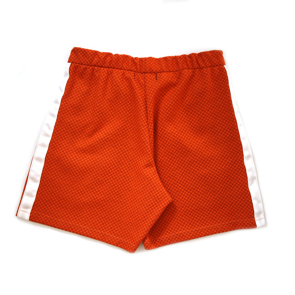 Logo-Print Textured Shorts