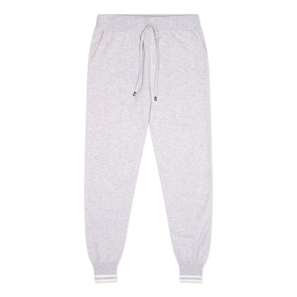 Grey Cashmere Pants