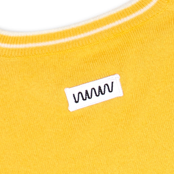 Yellow Cashmere Sweater