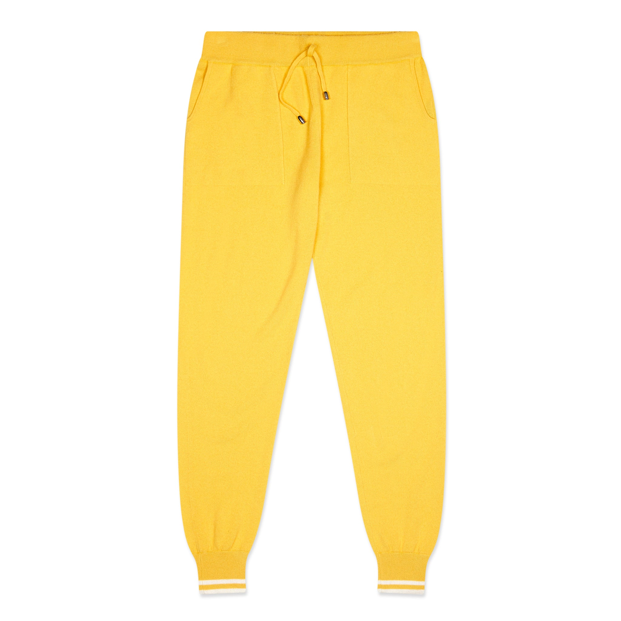 Yellow Cashmere Pants