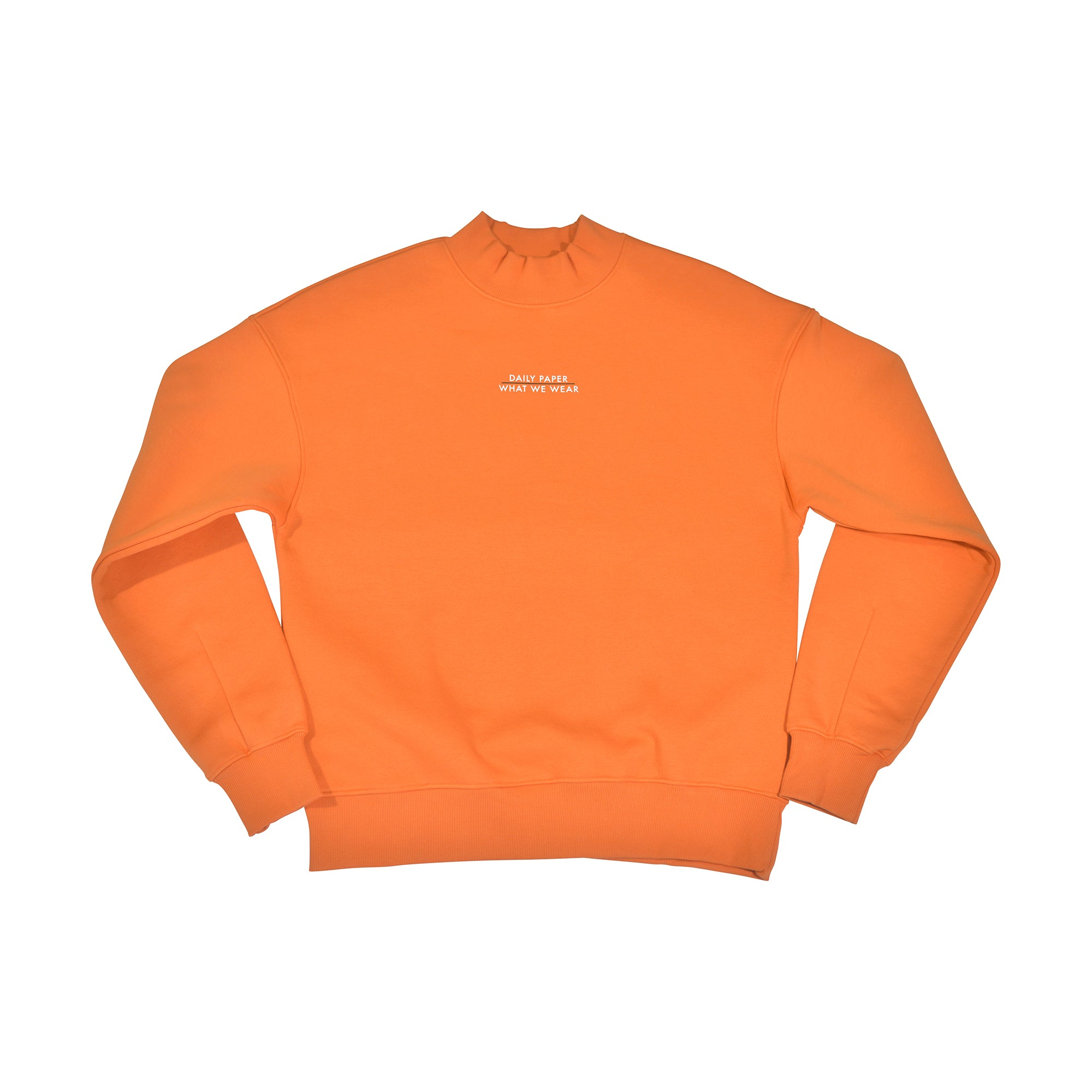 WWW x Daily Paper Orange Crew Jumper
