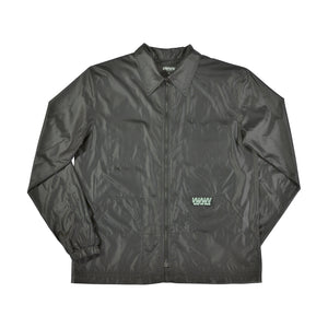 BLACK NYLON LIGHT JACKET