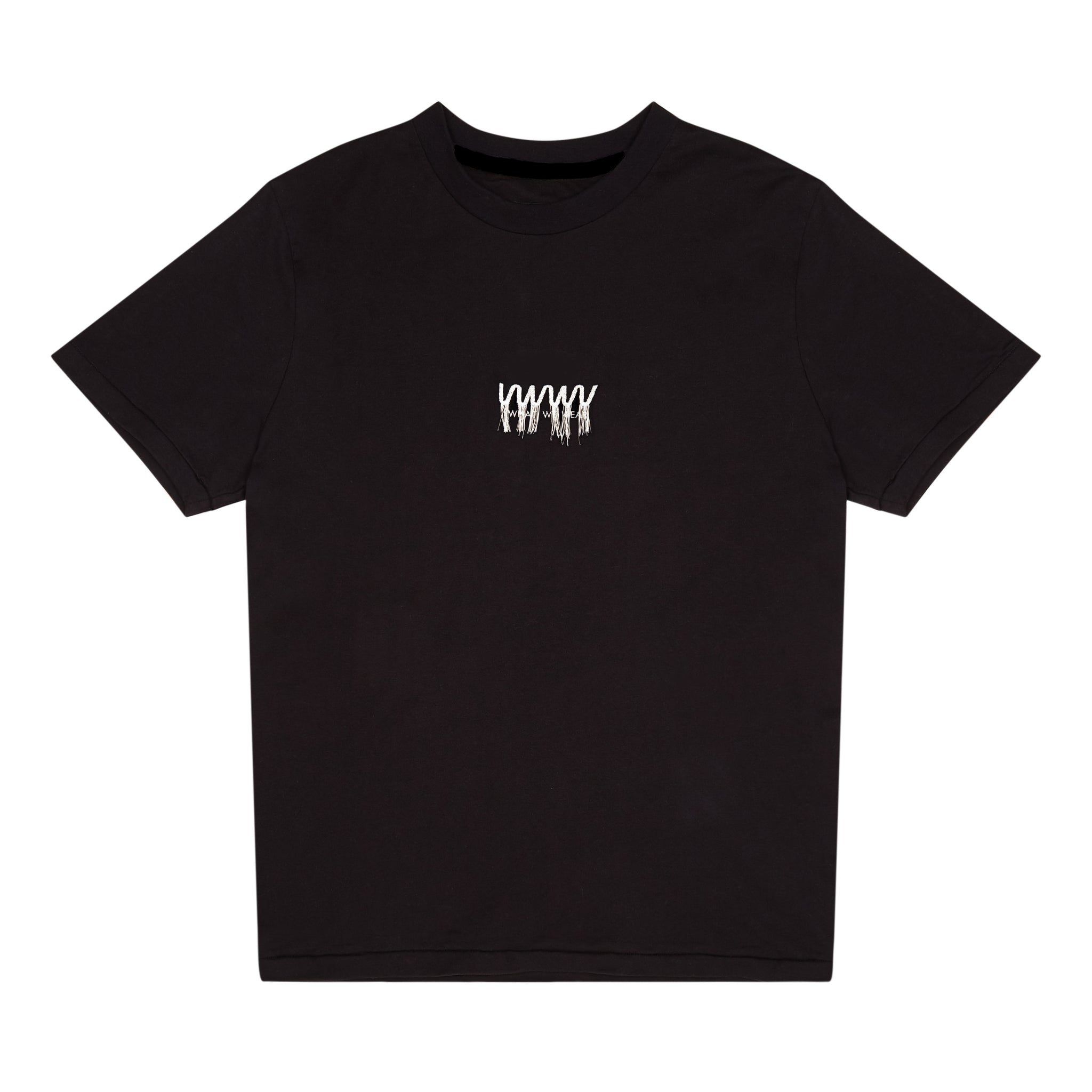 'WWW' Loose Threaded Embroidery Logo T-shirt
