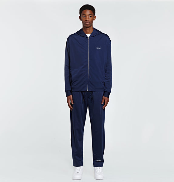 Navy Logo Tracksuit Trousers