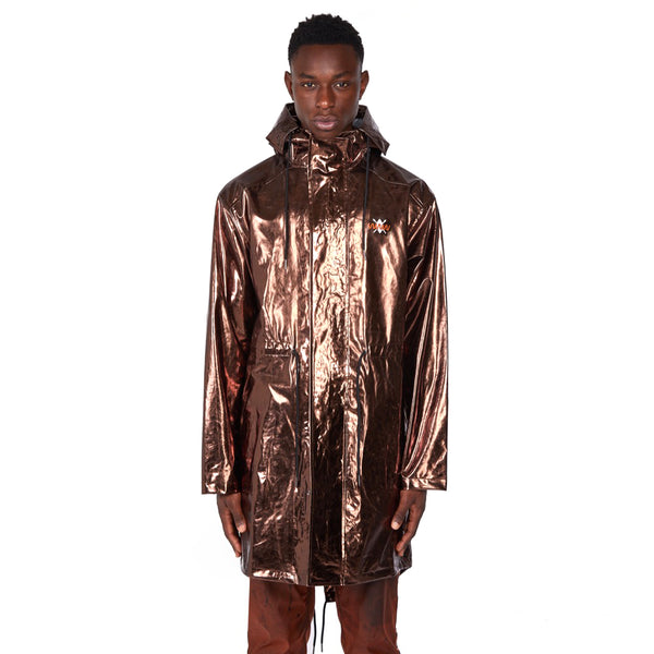 What We Wear x Daily Paper Bronze Rain Coat