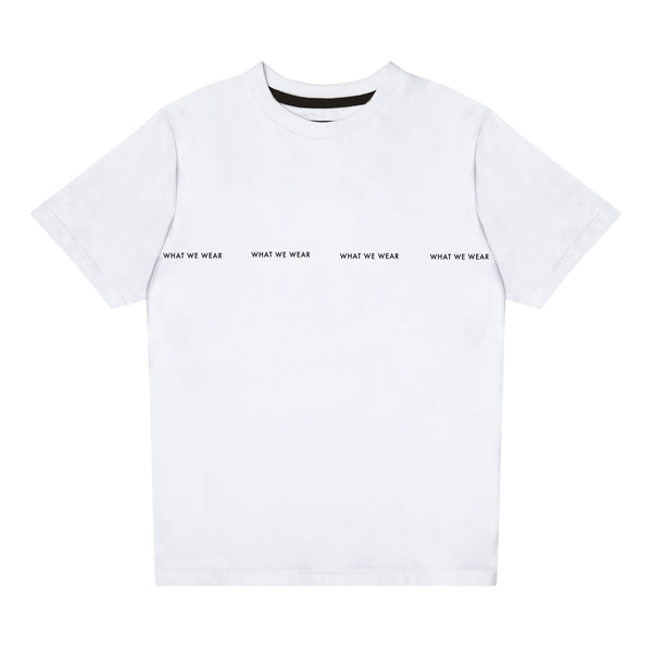 'What We Wear' Logo T-shirt